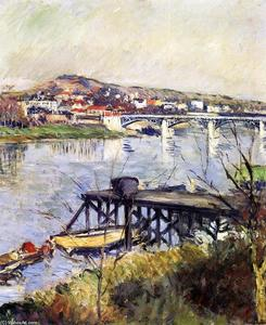 Gustave Caillebotte - The Argenteuil Bridge