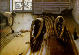 Gustave Caillebotte - The Floor Scrapers aka The Floor Strippers