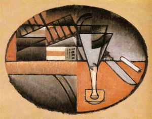 Juan Gris - The Packet of Cigars