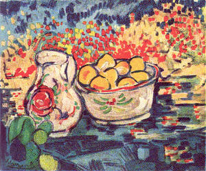 Maurice De Vlaminck - Apple Still Life