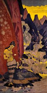 Nicholas Roerich - Song of the Waterfall