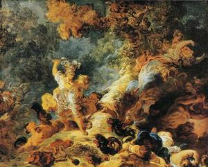 Jean-Honoré Fragonard - Rinaldo in the Enchanted Forest