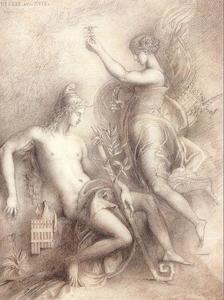 Gustave Moreau - Hesiod and the Muse1