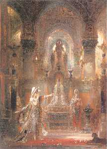 Gustave Moreau - Salomé Dancing before Herod