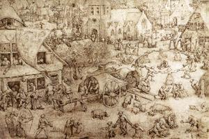 Pieter Bruegel The Elder - The Fair at Hoboken