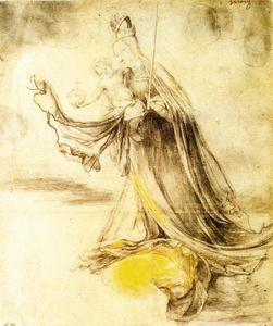 Matthias Grünewald - Mary with the Sun below her Feet