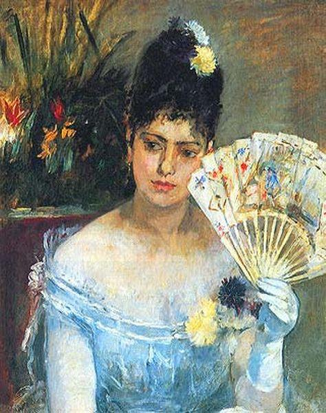 famous painting At the Ball of Berthe Morisot