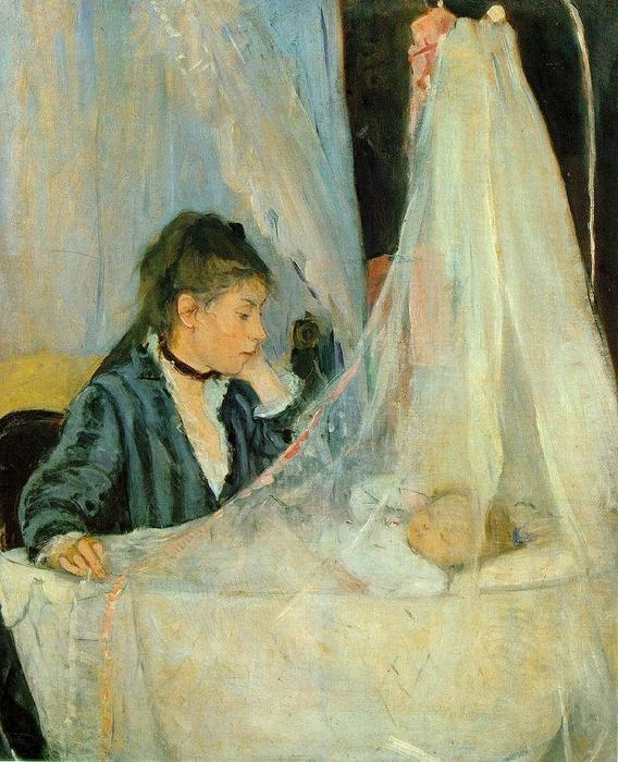famous painting Image Le berceau (The Cradle) of Berthe Morisot