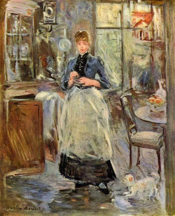 famous painting The Dining Room of Berthe Morisot
