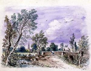 John Constable - Milford Bridge