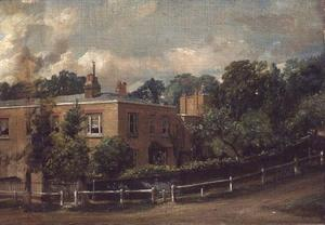 John Constable - View of Lower Terrace, Hampstead