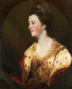 Joshua Reynolds - Emily, Duchess of Leinster1