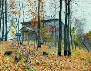 Isaak Ilyich Levitan - Autumn. The Manor.
