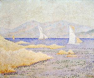Paul Signac - Coast Scene