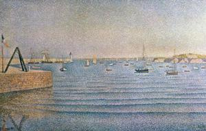 Paul Signac - The Harbour at Portrieux