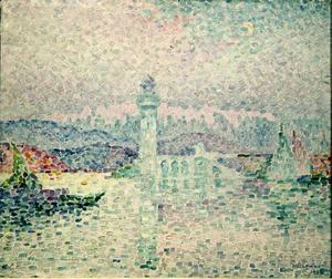 Paul Signac - The Lighthouse at Antibes