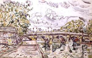 Paul Signac - The Pont Neuf, Paris