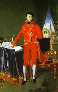 Jean Auguste Dominique Ingres - Portrait of Napoléon Bonaparte, The First Council