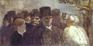 Honoré Daumier - Passers By