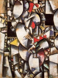 Fernand Leger - The nude model in the workshop