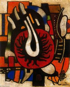 Fernand Leger - The red disc