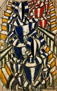 Fernand Leger - The staircase