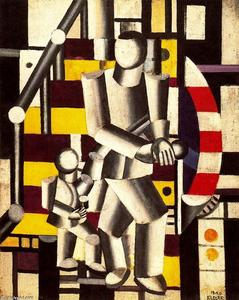 Fernand Leger - The Staircase2
