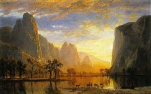 Albert Bierstadt - Valley of the Yosemite