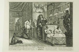 William Hogarth - Hudibras and the Lawyer, plate twelve from Hudibras