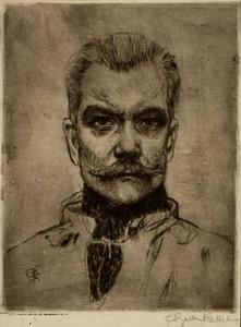 Akseli Gallen Kallela - Self portrait