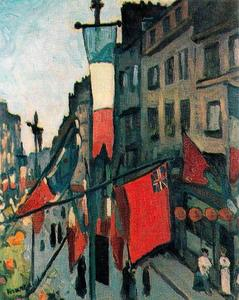 Albert Marquet - 14 July in Le Havre