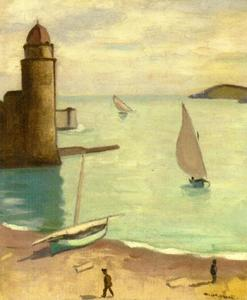 Albert Marquet - Fishing Boats Returning, Collioure