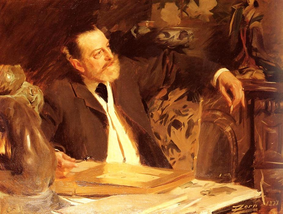 famous painting Antonin Proust of Anders Leonard Zorn