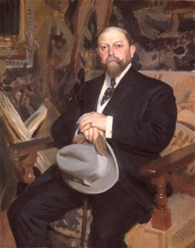 famous painting Hugo Reisinger of Anders Zorn