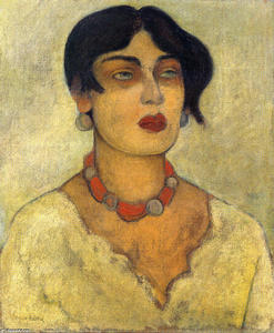 Diego Rivera - Portrait of Guadalupe
