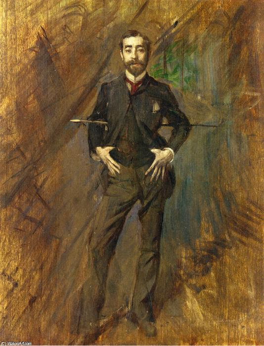 famous painting John Singer Sargent of Giovanni Boldini