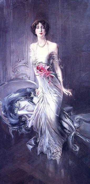 famous painting Portrait of Madame E. L. Doyen of Giovanni Boldini