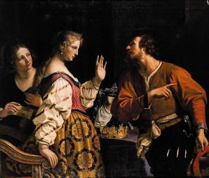 Guercino (Barbieri, Giovanni Francesco) - Semiramis Called to Arms