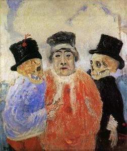 James Ensor - Le juge Rouge