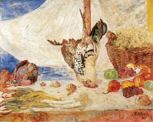 James Ensor - The Dead Cockerel