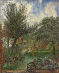 James Ensor - The Garden of the Rousseau Family