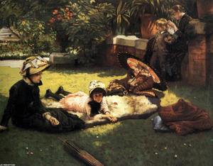 James Jacques Joseph Tissot - In the Sunshine