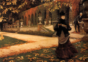 James Jacques Joseph Tissot - The Letter