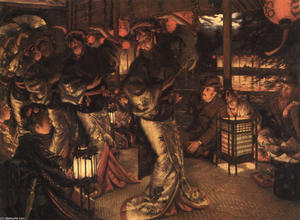James Jacques Joseph Tissot - The Prodigal Son in Modern Life. In Foreign Climes