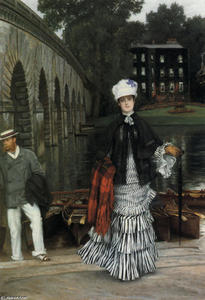 James Jacques Joseph Tissot - The Return from the Boating Trip