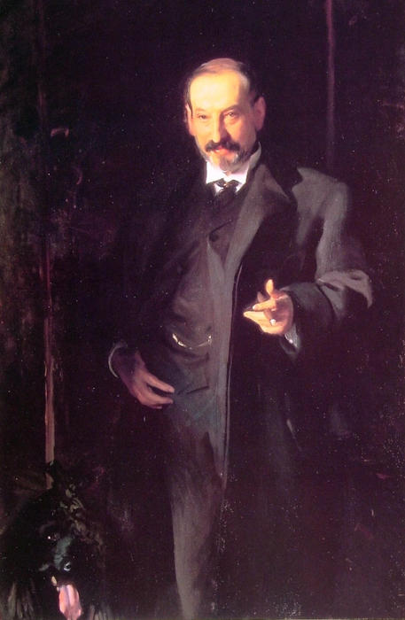 famous painting Asher Wertheimer of John Singer Sargent
