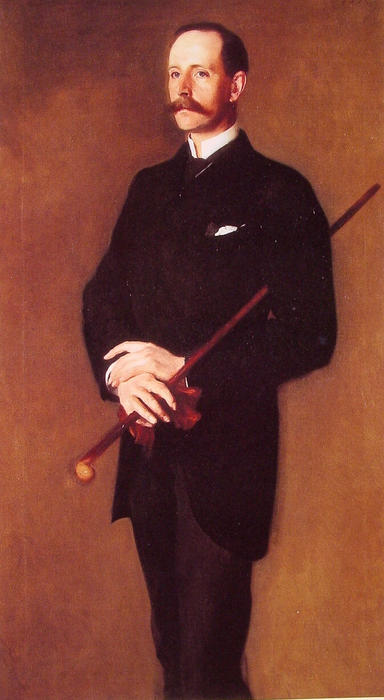 famous painting Brigadier Archibald Campbell Douglas Dick of John Singer Sargent