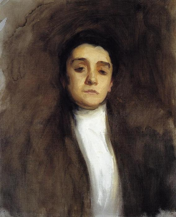famous painting Eleanora Duse of John Singer Sargent