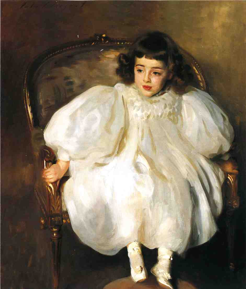 famous painting Expectancy of John Singer Sargent