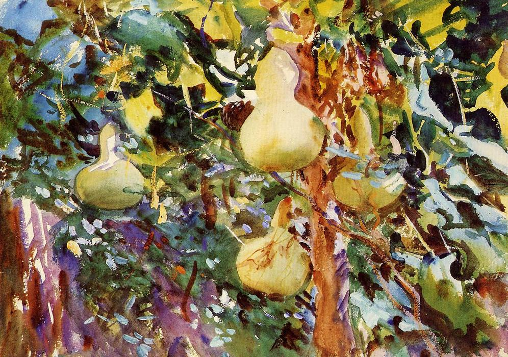 famous painting Gourds of John Singer Sargent